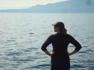 Cates Island, looking at the back of Texada Isl.