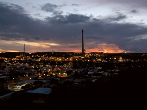 Mt Isa at Dusk