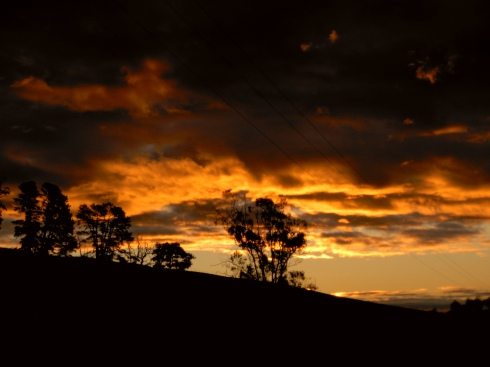 Sunset in Tasmania