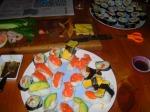 Fresh fish for sushi