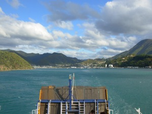 A View of Picton from the ferry