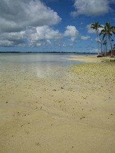 View from Pangaimotu