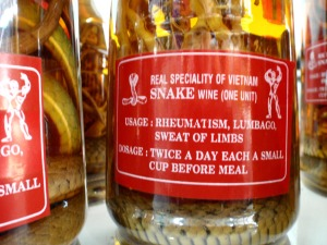 Snake Wine Instructions