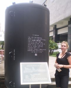 Outside the War remnanats Museum
