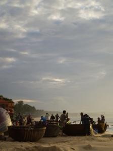 The fishing Boats in Mui Ne
