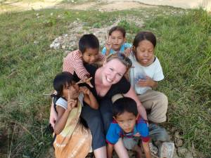 New Friends at the Orphanage